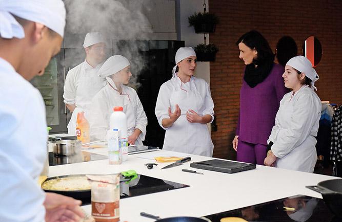 Gema igual visita el programa de formaci n profesional for Programas de cocina en espana